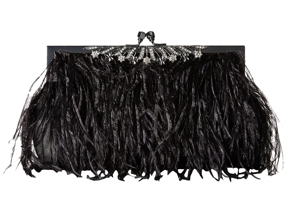 Jessica McClintock - Gigi Clutch (Black) Clutch Handbags