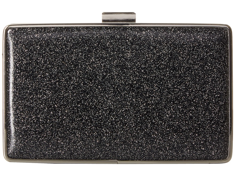 Jessica McClintock - Ella Minaudiere (Black) Clutch Handbags