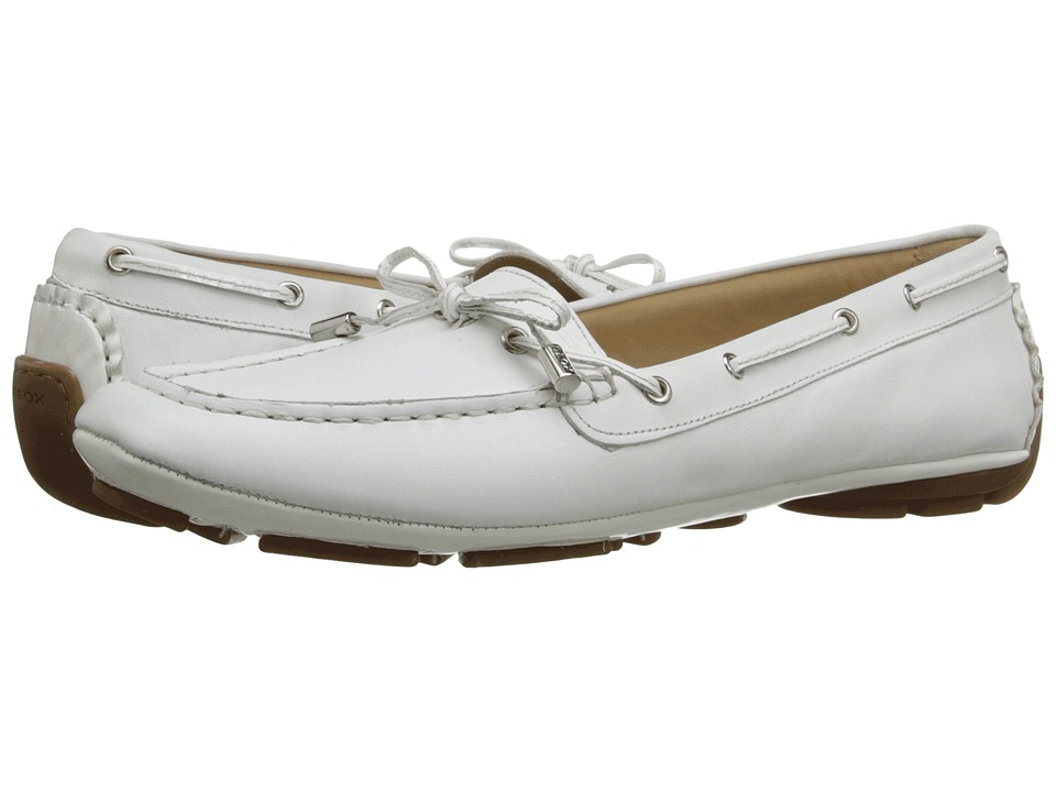 Geox - WCLELIA4 (White) Women's Shoes