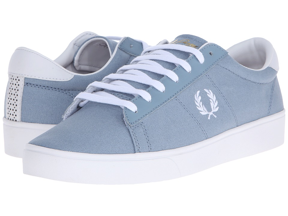 Fred Perry - Spencer Canvas/Leather (Sub Blue/White) Men's Lace up casual Shoes