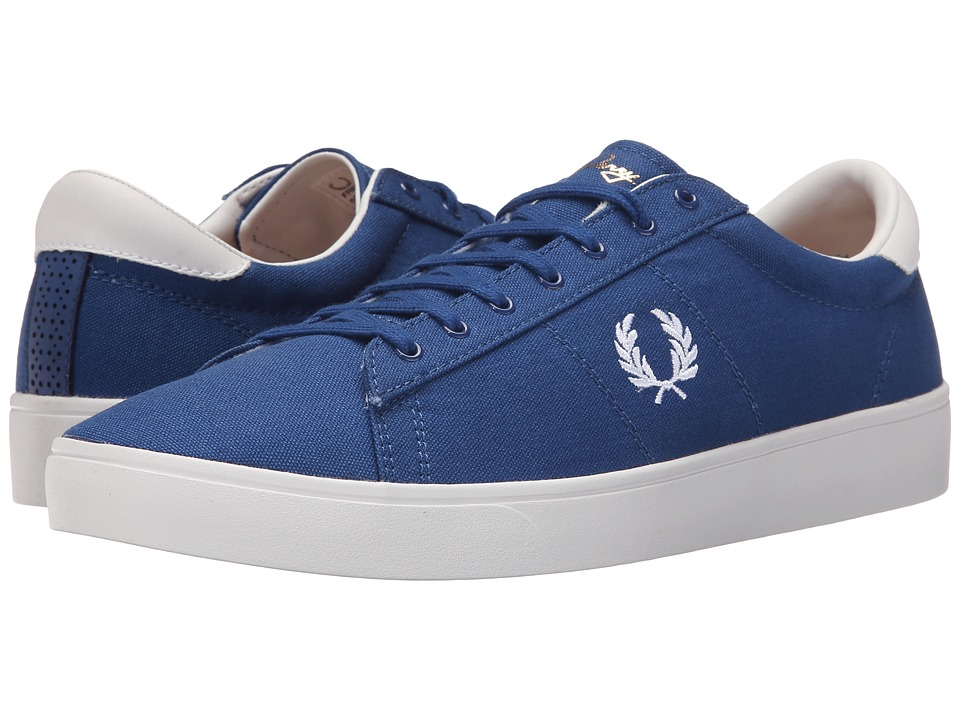 Fred Perry - Spencer Canvas (1964 Royal/White) Men's Lace up casual Shoes