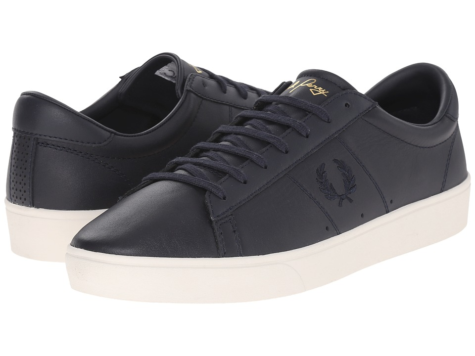 Fred Perry - Spencer Leather (Navy/Navy) Men's Lace up casual Shoes