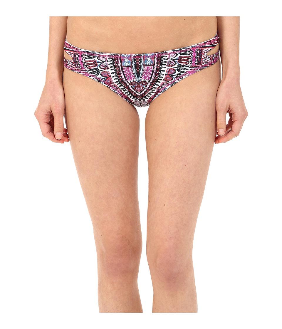 Lucky Brand - Desert Dancer Reversible Basic Bottom (Multi) Women's Swimwear