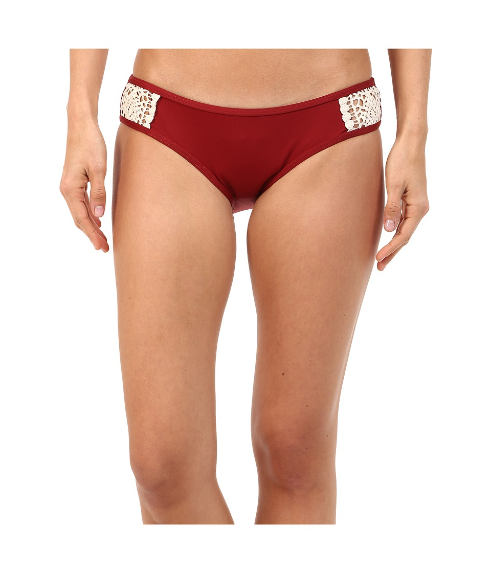 Lucky Brand - Natural Fever Hipster (Terracotta) Women's Swimwear