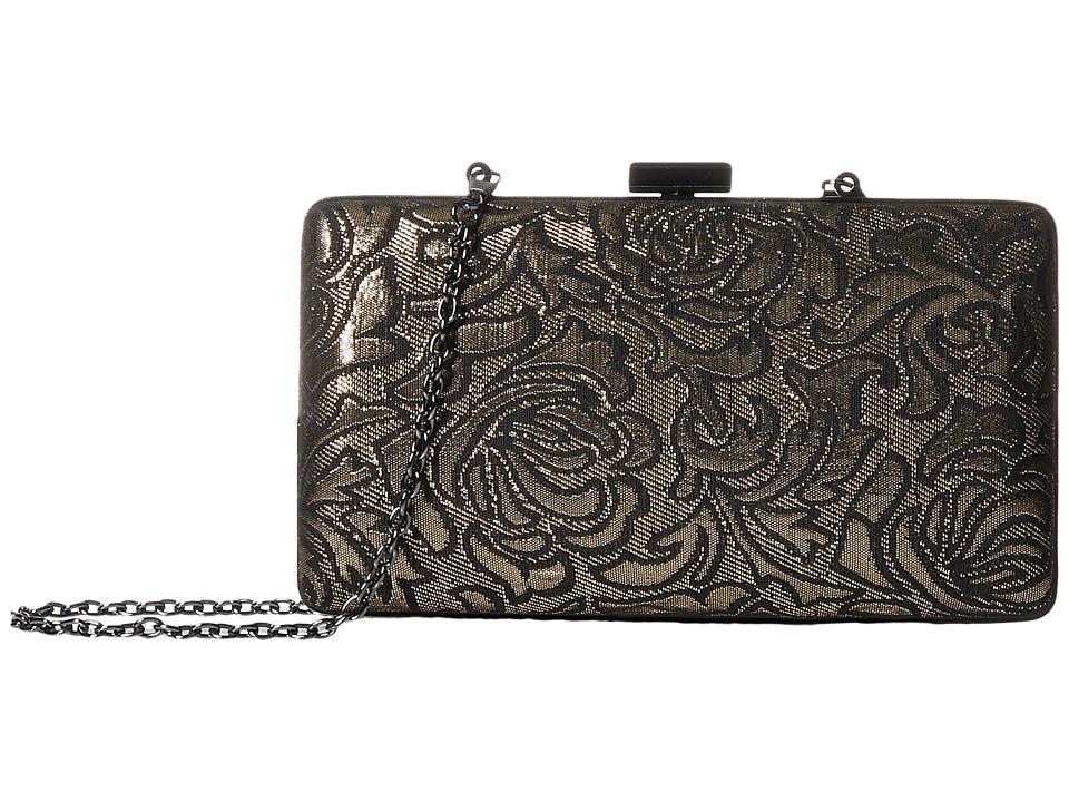 Jessica McClintock - Noelle Minaudiere (Gold) Cross Body Handbags