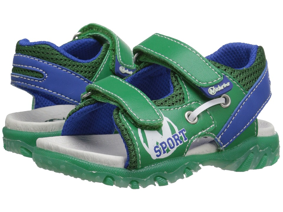 Naturino - Sport 521 SS16 (Toddler/Little Kid) (Green) Boys Shoes