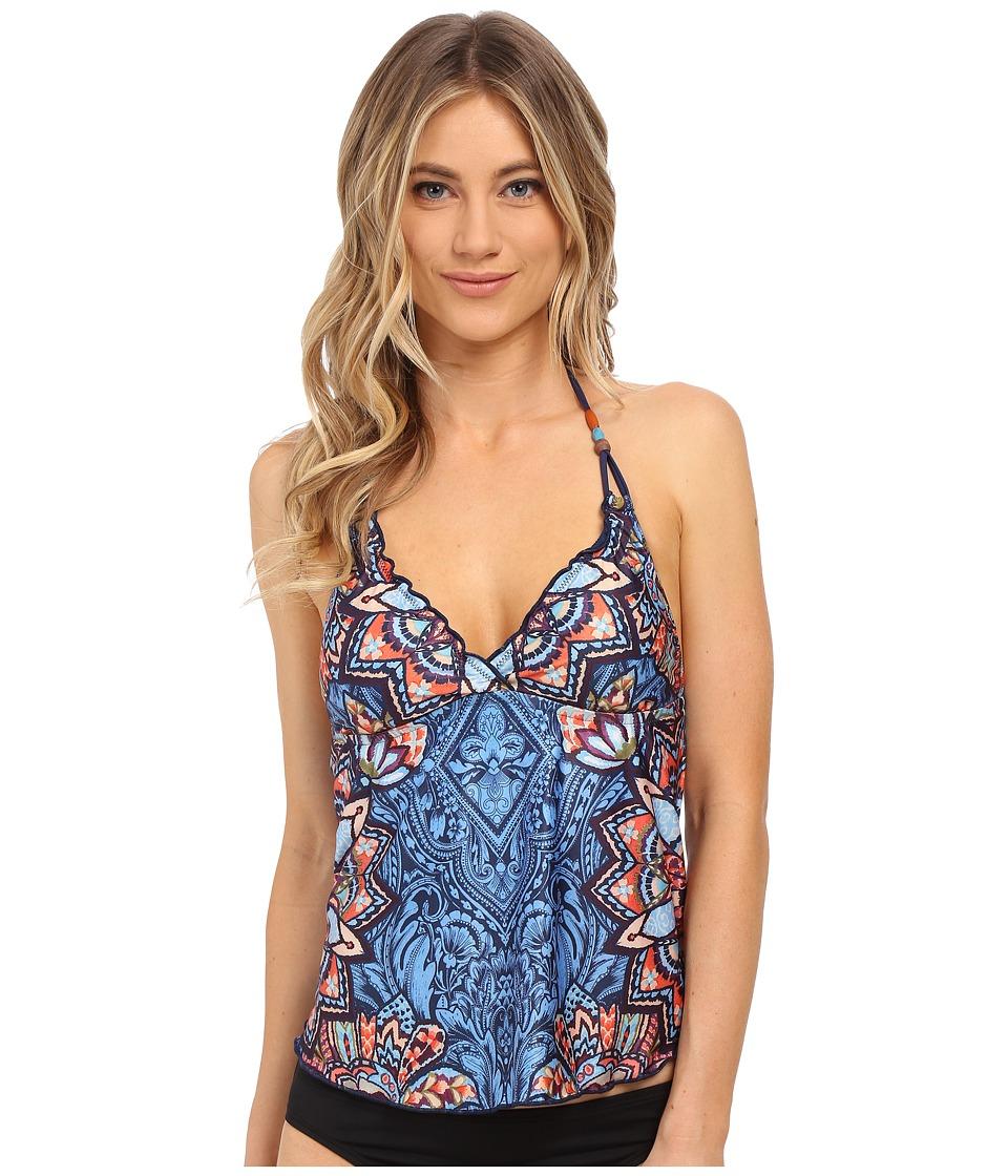 Lucky Brand - Layla Tankini (Multi) Women's Swimwear