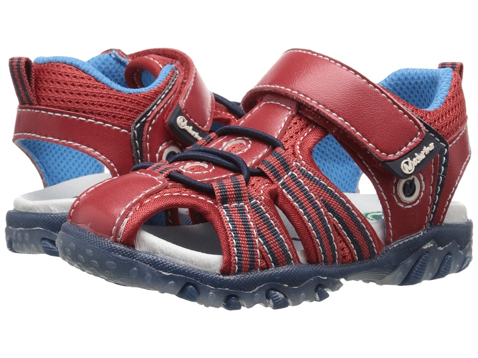 Naturino - Sport 437 SS16 (Toddler/Little Kid) (Red) Boys Shoes