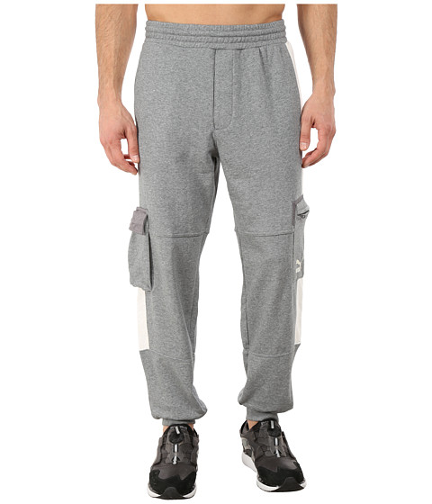 PUMA - Progressive Cuffed Pants (Gray) Men's Casual Pants