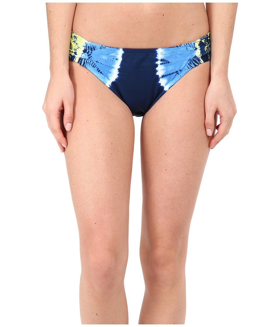 Lucky Brand - Half Moon Hipster (Indigo) Women's Swimwear