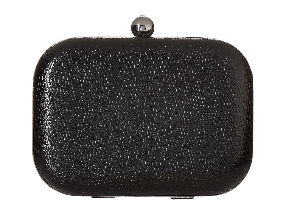 Jessica McClintock - Roxie Minaudiere (Black) Handbags