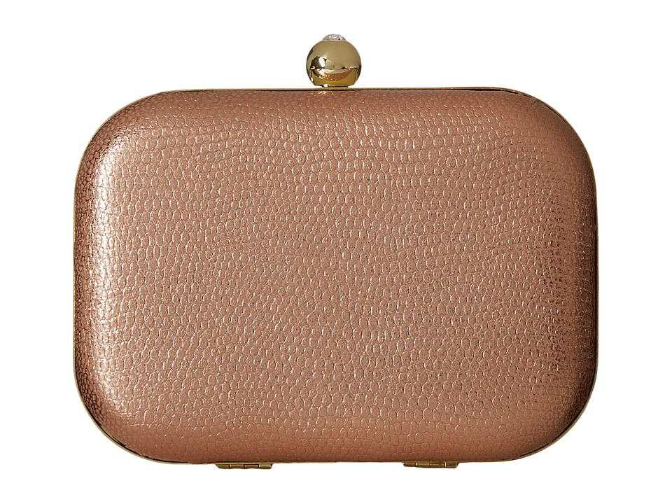 Jessica McClintock - Roxie Minaudiere (Blush) Handbags
