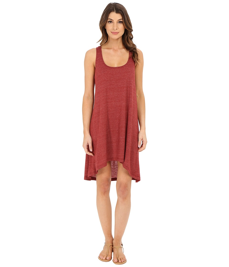 Lucky Brand - Natural Fever Dress Cover-Up (Terracotta) Women's Swimwear