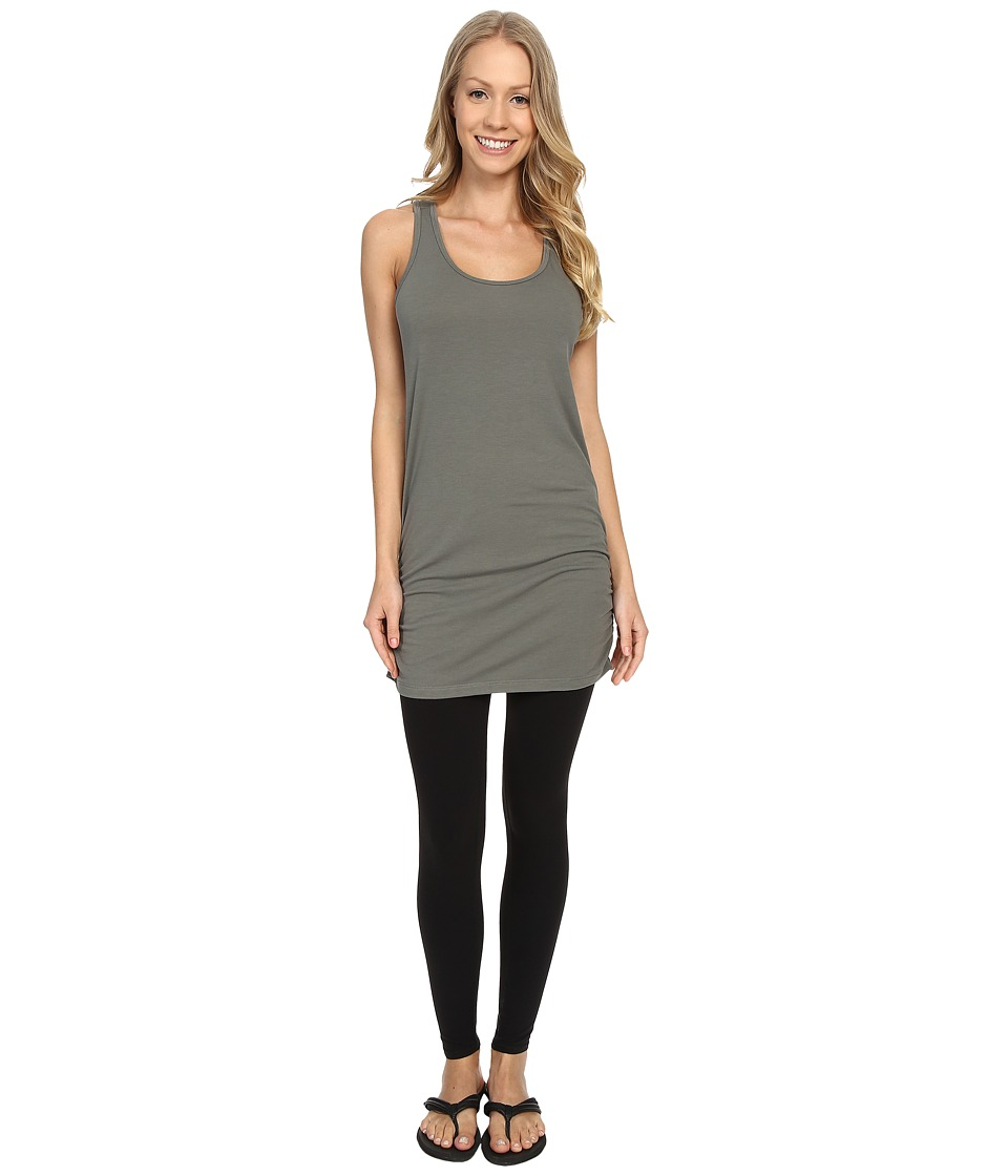 Lucy - Yoga Girl Sleeveless Tunic (Moss Green) Women's Sleeveless