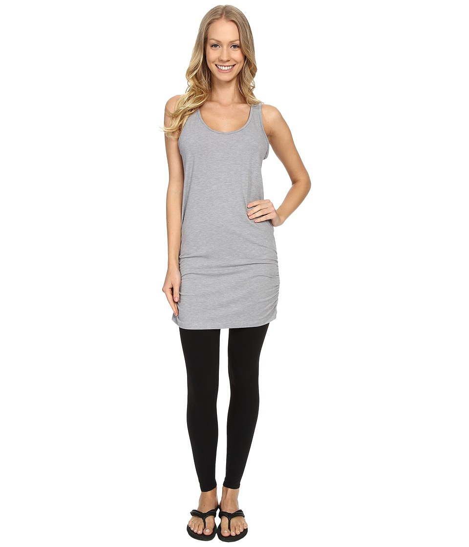 Lucy - Yoga Girl Sleeveless Tunic (Sleet Grey Heather) Women's Sleeveless