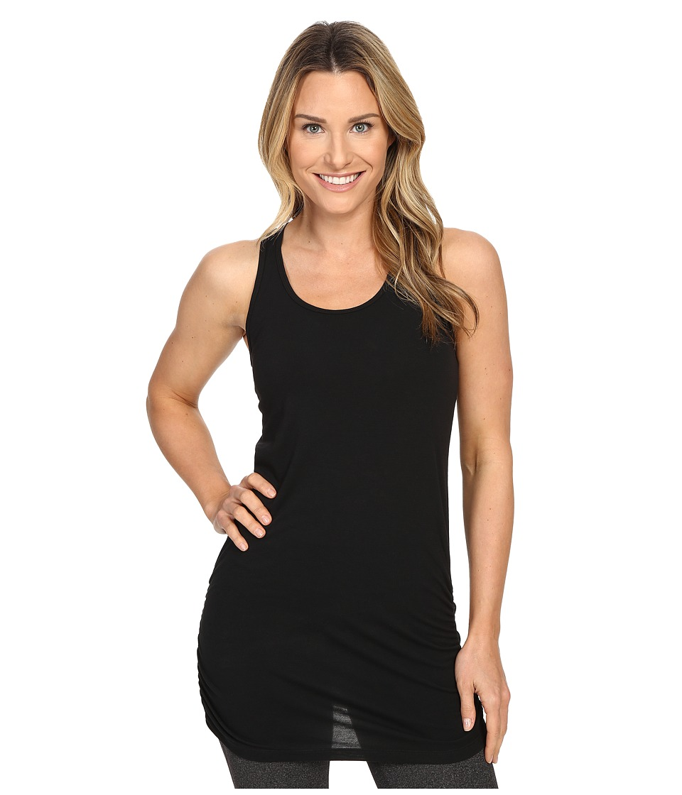 Lucy - Yoga Girl Sleeveless Tunic (Lucy Black) Women's Sleeveless