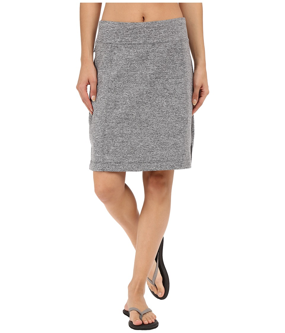 Lucy - Vital Skirt (Light Asphalt Heather) Women's Skirt