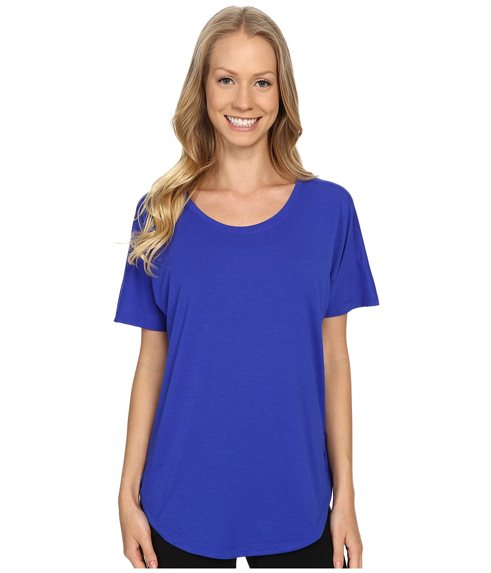 Lucy - Final Rep S/S (Sapphire Blue) Women's Short Sleeve Pullover
