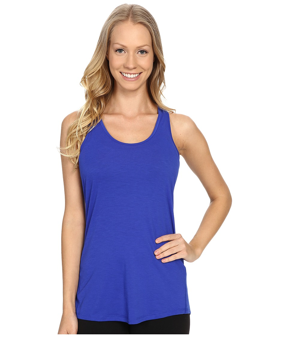 Lucy - Workout Racerback (Sapphire Blue) Women's Clothing