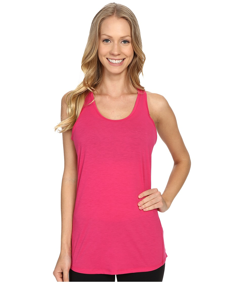 Lucy - Workout Racerback (Azalea) Women's Clothing