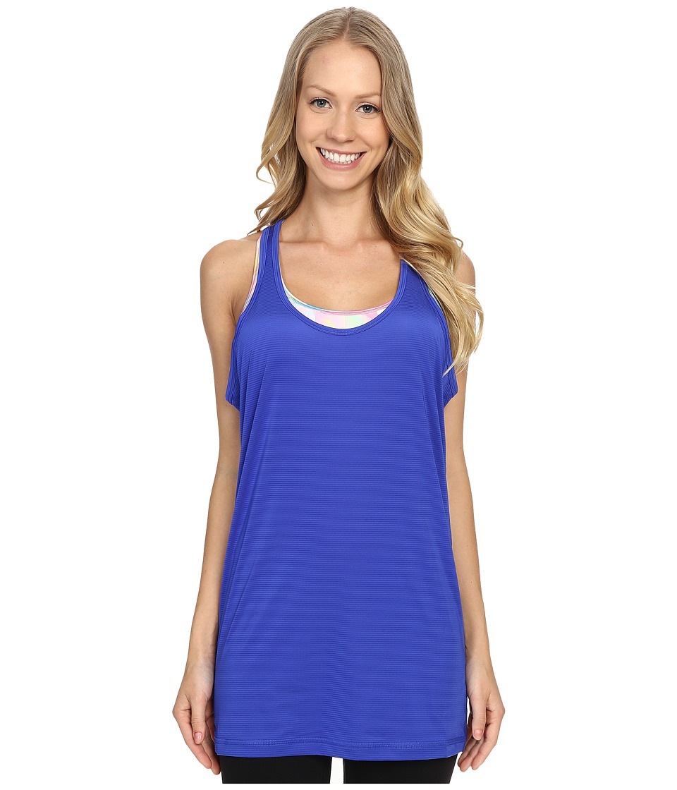 Lucy - Push Your Limits Singlet (Sapphire Blue) Women's Sleeveless