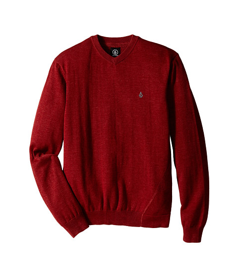 Volcom Kids - Upstand Sweater (Big Kids) (Brick) Boy's Sweater
