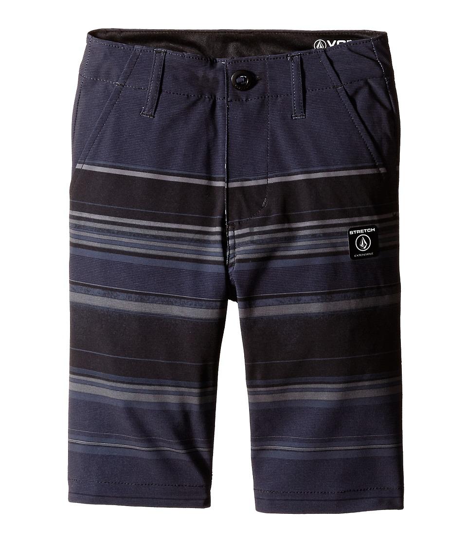 Volcom Kids - Frickin V4S Mixed Shorts (Big Kids) (Sulfur Black) Boy's Shorts