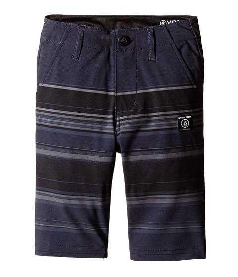 Volcom Kids - Frickin V4S Mixed Shorts (Big Kids) (Sulfur Black) Boy