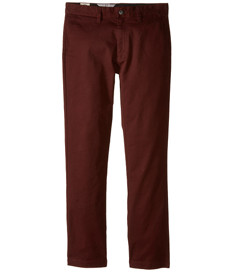 Volcom Kids - Frickin Modern Stretch Chino Pant (Big Kids) (Cherry Wood) Boy