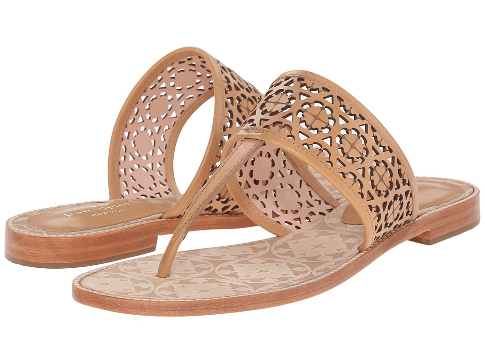 Kate Spade New York Susan Natural Vacchetta High Heels