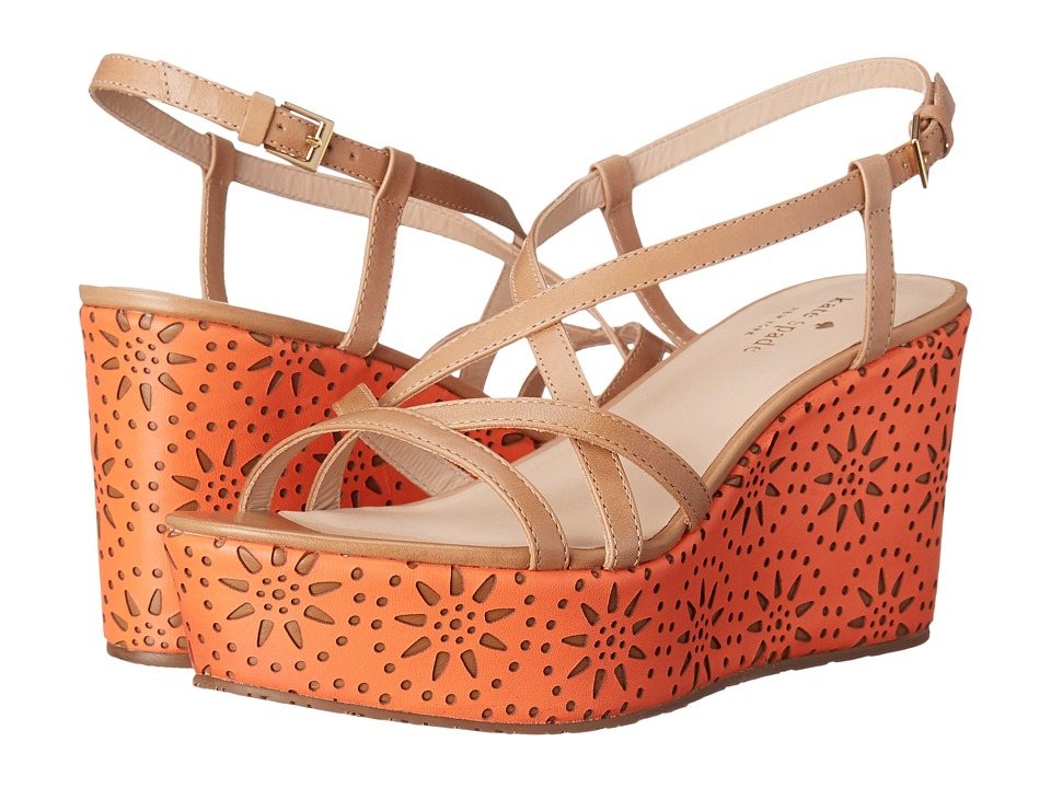 Kate Spade New York - Tatiana (Natural Soft Vacchetta) Women's Shoes