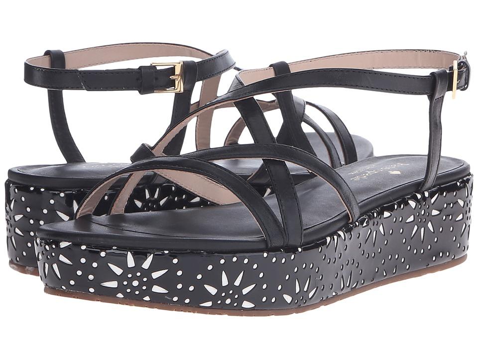 Kate Spade New York - Tonie (Black Soft Vacchetta) Women's Shoes