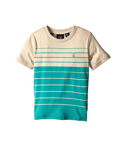 Volcom Kids - Estez Short Sleeve Crew (Toddler/Little Kids) (Ocean) Boy's T Shirt
