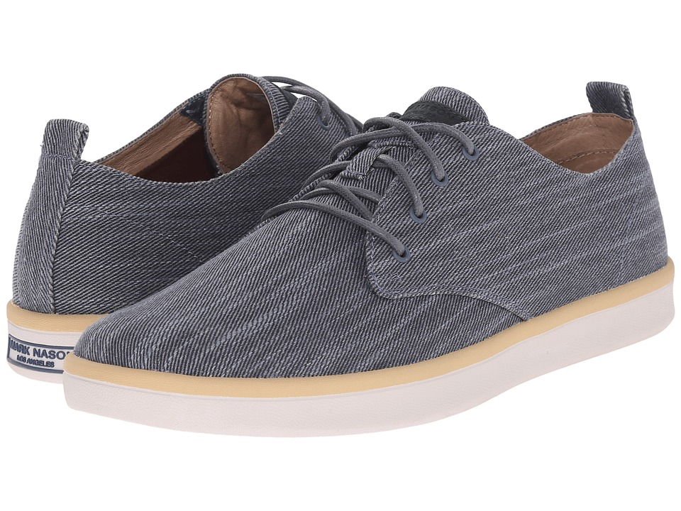 Mark Nason - Sycamore (Navy Canvas/Natural Pin/White Bottom) Men's Lace up casual Shoes