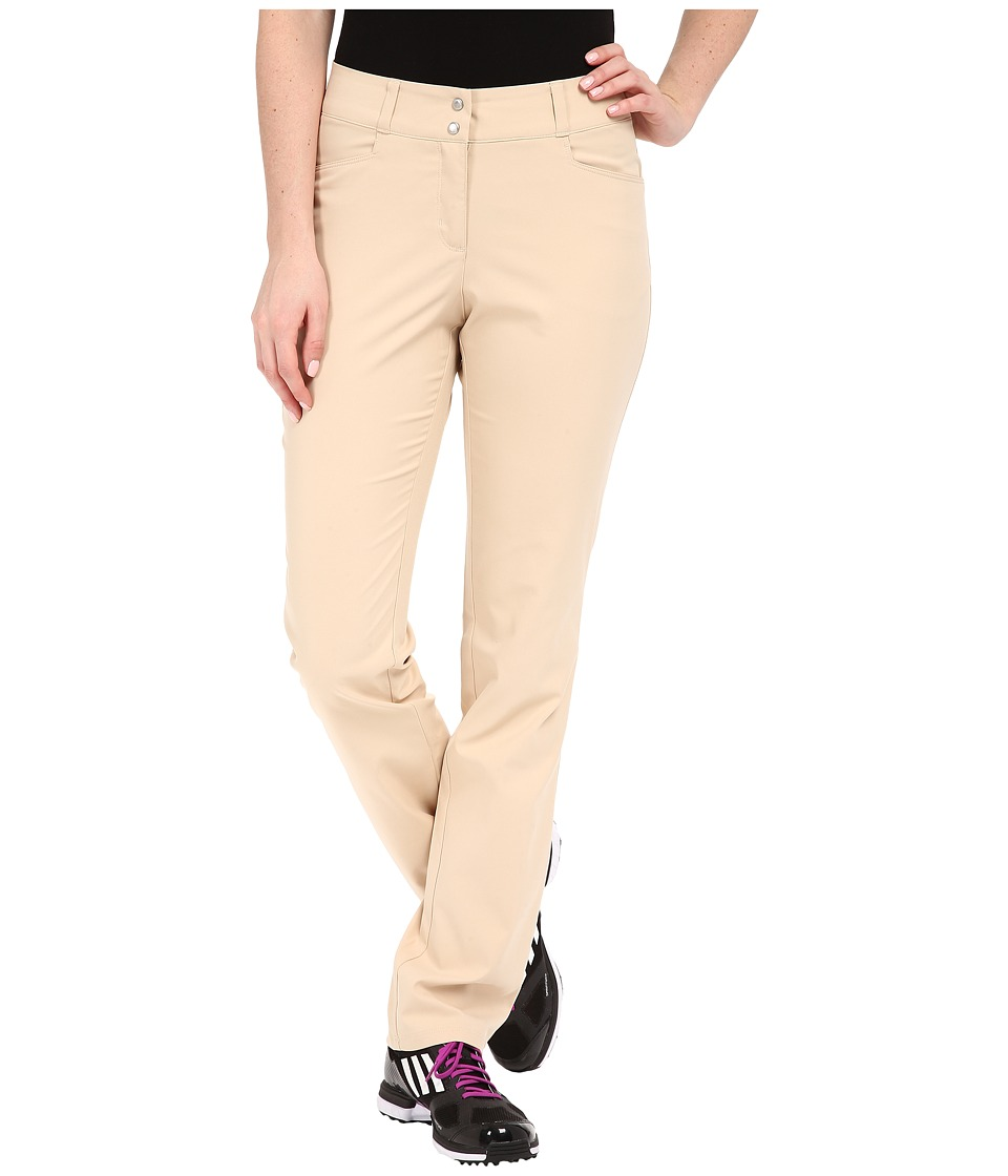 adidas Golf - Essentials Lightweight Full Length Pants (Lite Khaki) Women's Casual Pants