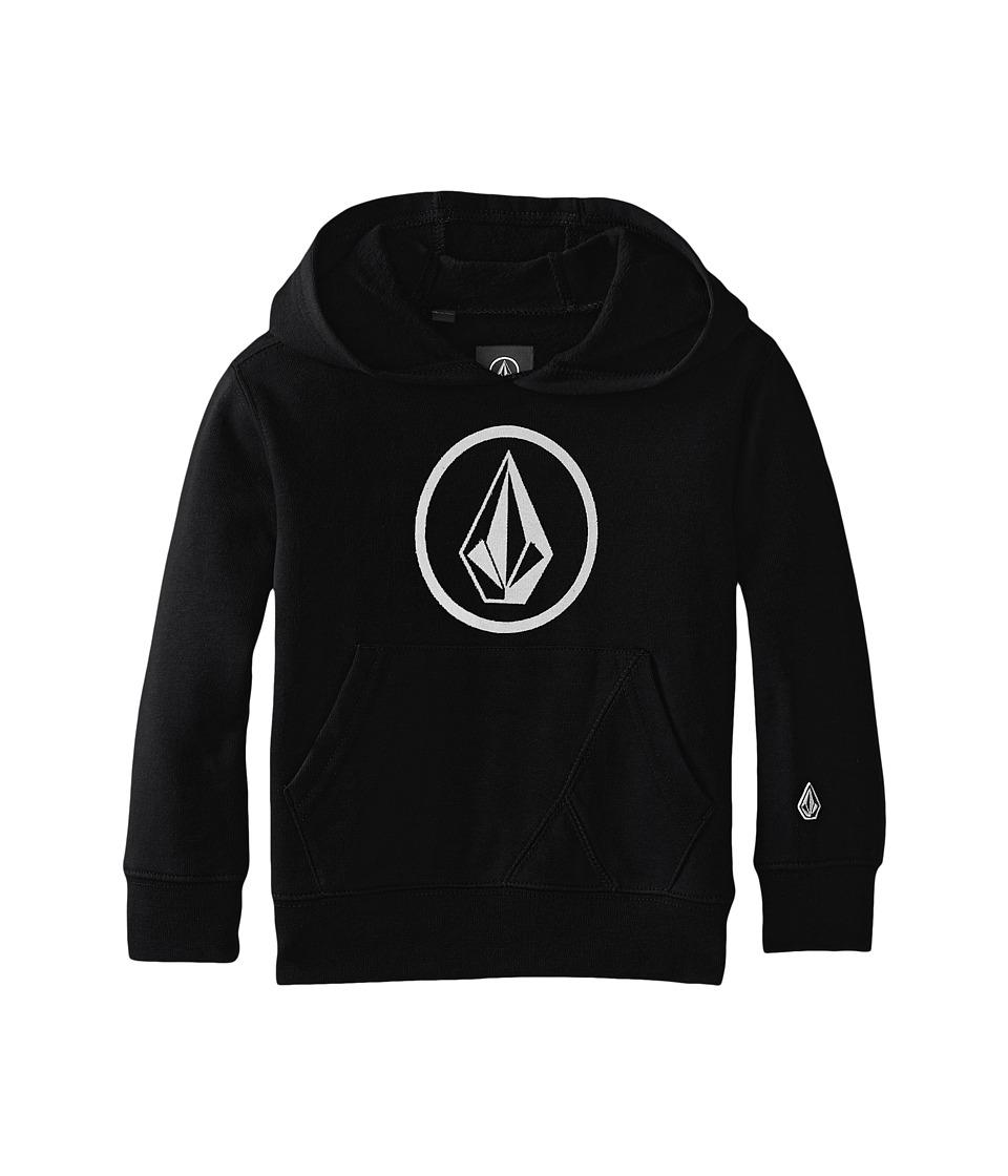 Volcom Kids - Stone Pullover (Toddler/Little Kids) (Black) Boy's Sweatshirt