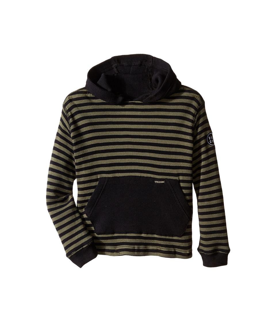 Volcom Kids - Vader Thermal (Toddler/Little Kids) (Old Blackboard) Boy's Long Sleeve Pullover