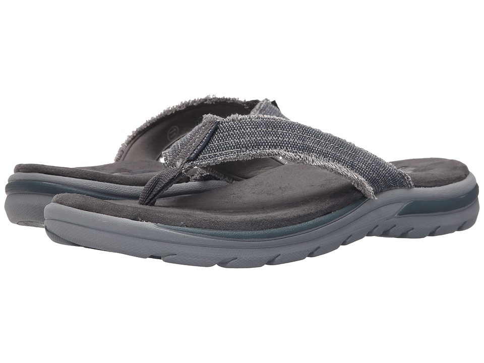 SKECHERS - Relaxed Fit 360 Supreme - Bosnia (Navy) Men's Sandals