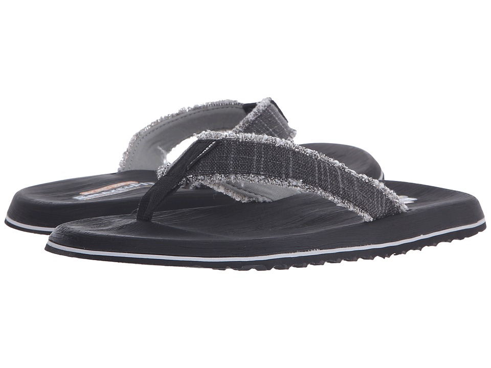 SKECHERS - Relaxed Fit 360 Tantric - Salman (Black) Men's Sandals