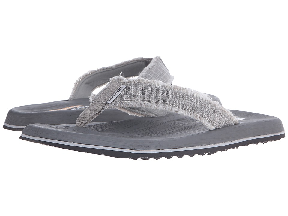 SKECHERS - Relaxed Fit 360 Tantric - Salman (Gray) Men's Sandals