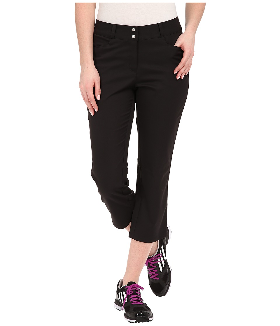 adidas Golf - Essentials Lightweight Capris (Black) Women's Capri