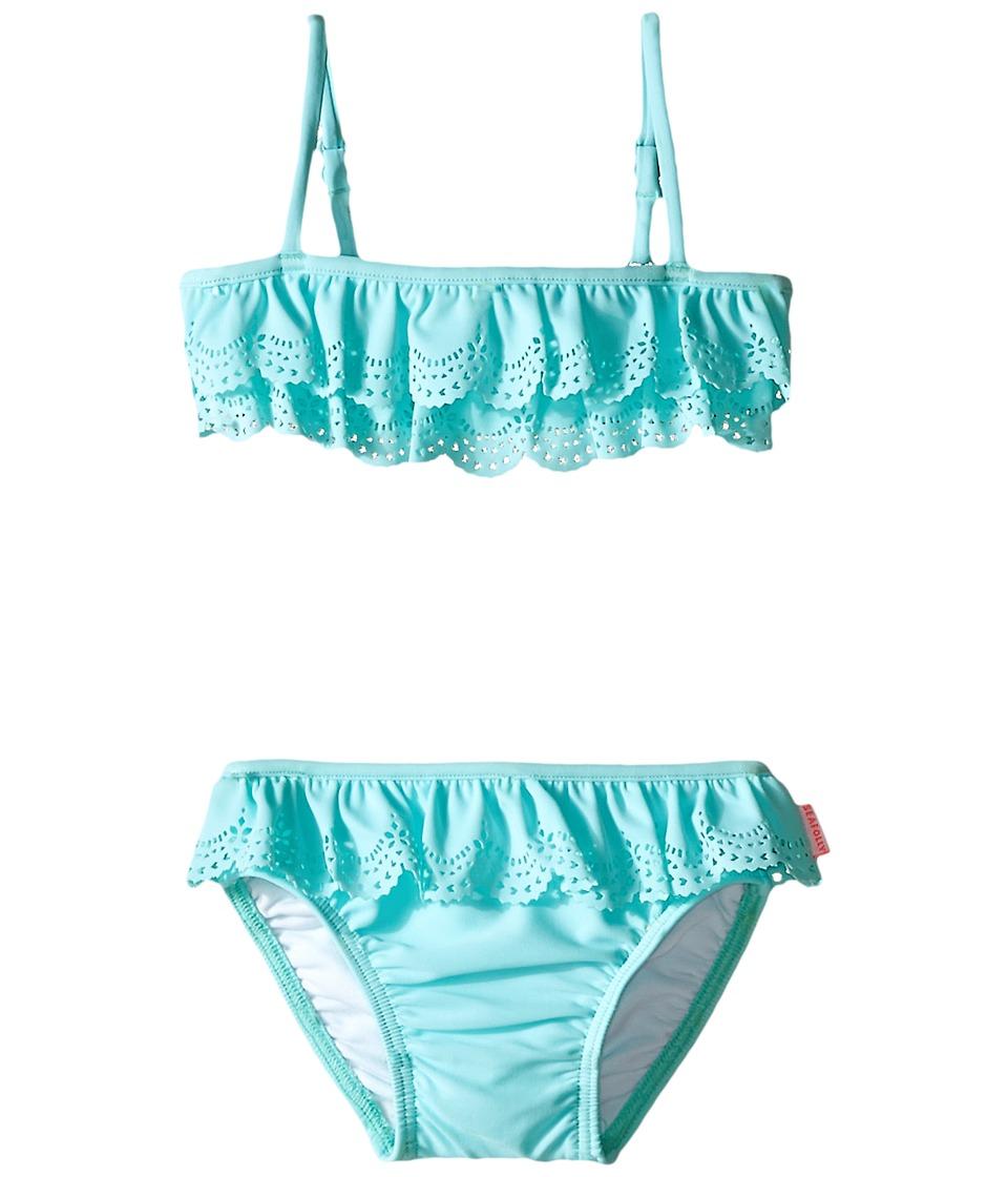 Seafolly Kids Jewel Cove Mini Tube Bikini (Infant/Toddler/Little Kids) (Crystal Blue) Girl