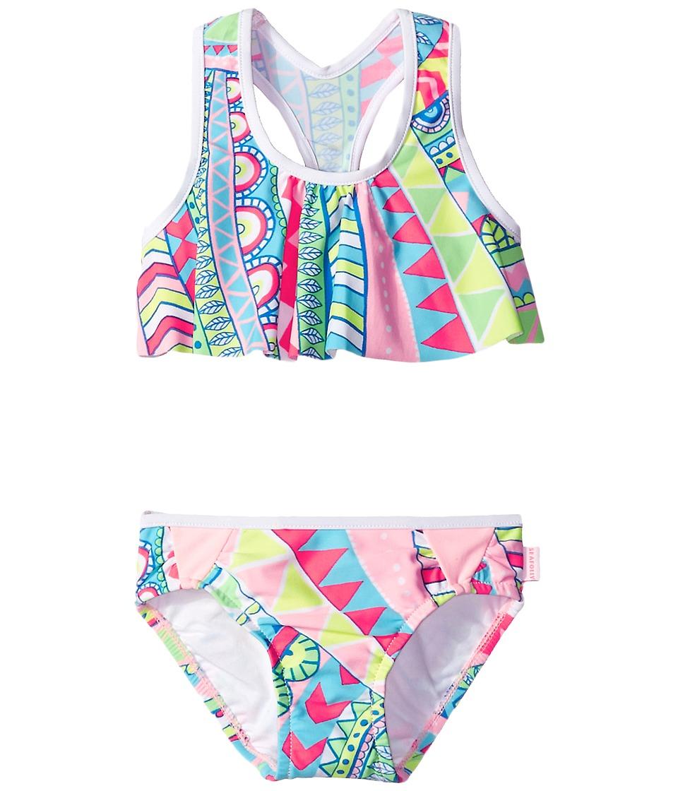 Seafolly Kids Jewel Cove Tankini (Toddler/Little Kids) (Multi) Girl