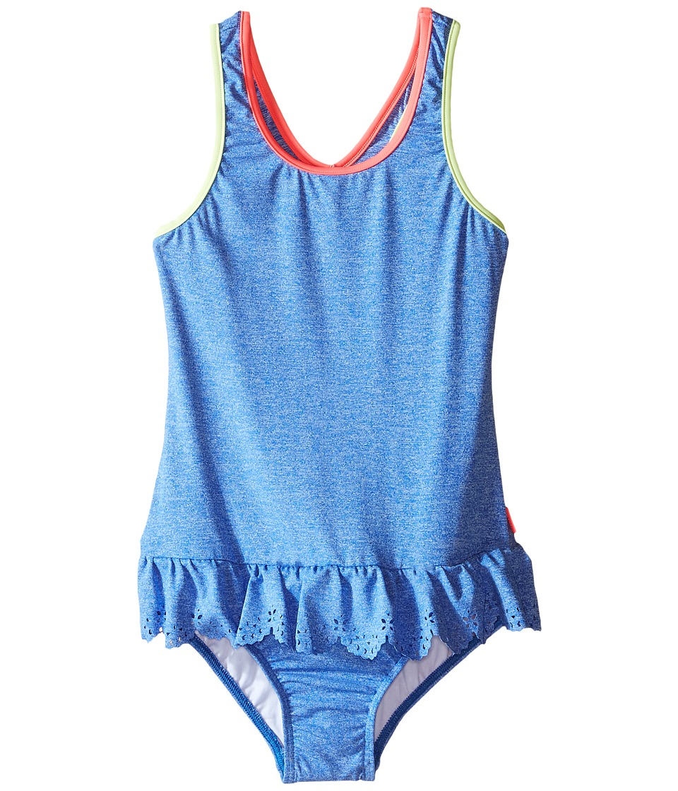 Seafolly Kids - Jewel Cove Action Back Tank Top (Toddler/Little Kids) (Denim Blue) Girl's Swimwear