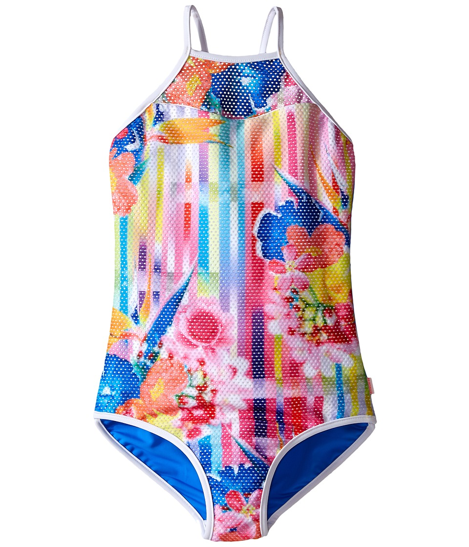 Seafolly Kids - Summer Daze Racer Tank Top (Little Kids/Big Kids) (Multi) Girl's Swimwear