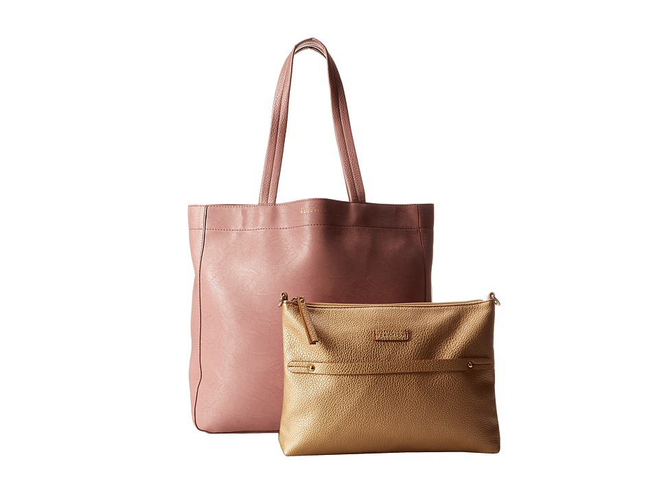 Kenneth Cole Reaction - New Tote City - Large Tote (Pink Mist) Tote Handbags