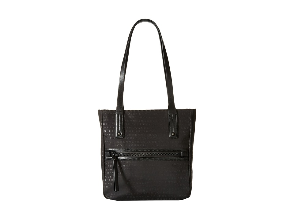 Kenneth Cole Reaction - Mars Mono Small Tote (Black) Tote Handbags