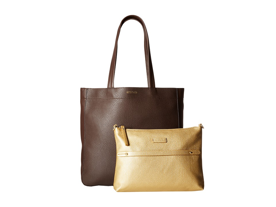 Kenneth Cole Reaction - New Tote City - Large Tote (Chocolate) Tote Handbags