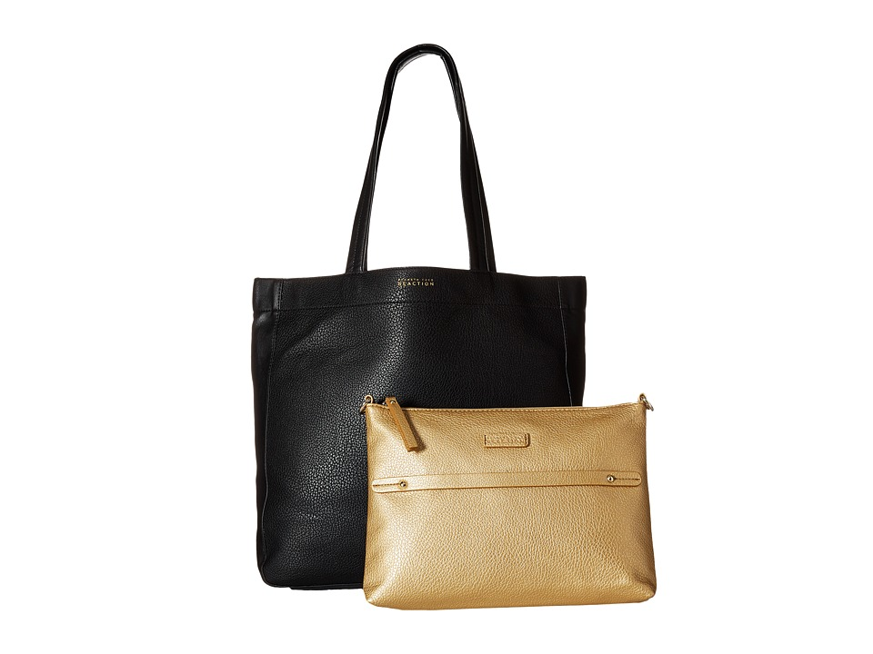 Kenneth Cole Reaction - New Tote City - Large Tote (Black) Tote Handbags