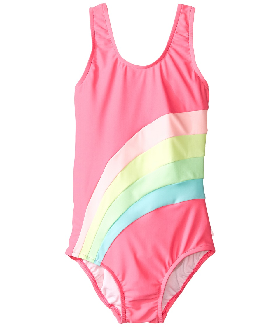 Seafolly Kids - Rainbow Chaser Spliced Tank Top (Toddler/Little Kids) (Flaminco) Girl's Swimwear